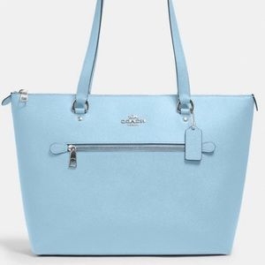 Coach Gallery Tote Bag Leather Waterfall